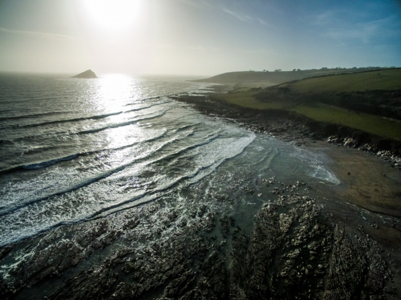 Wembury Beach, Devon, England