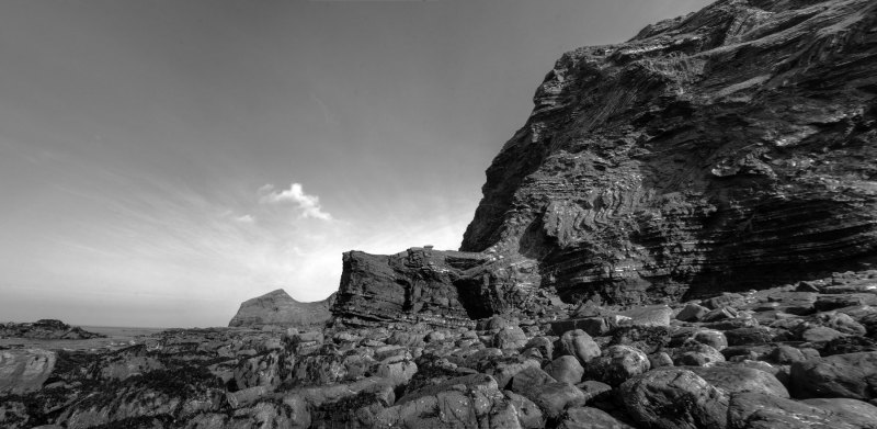 North Cornwall Cliff Panorama