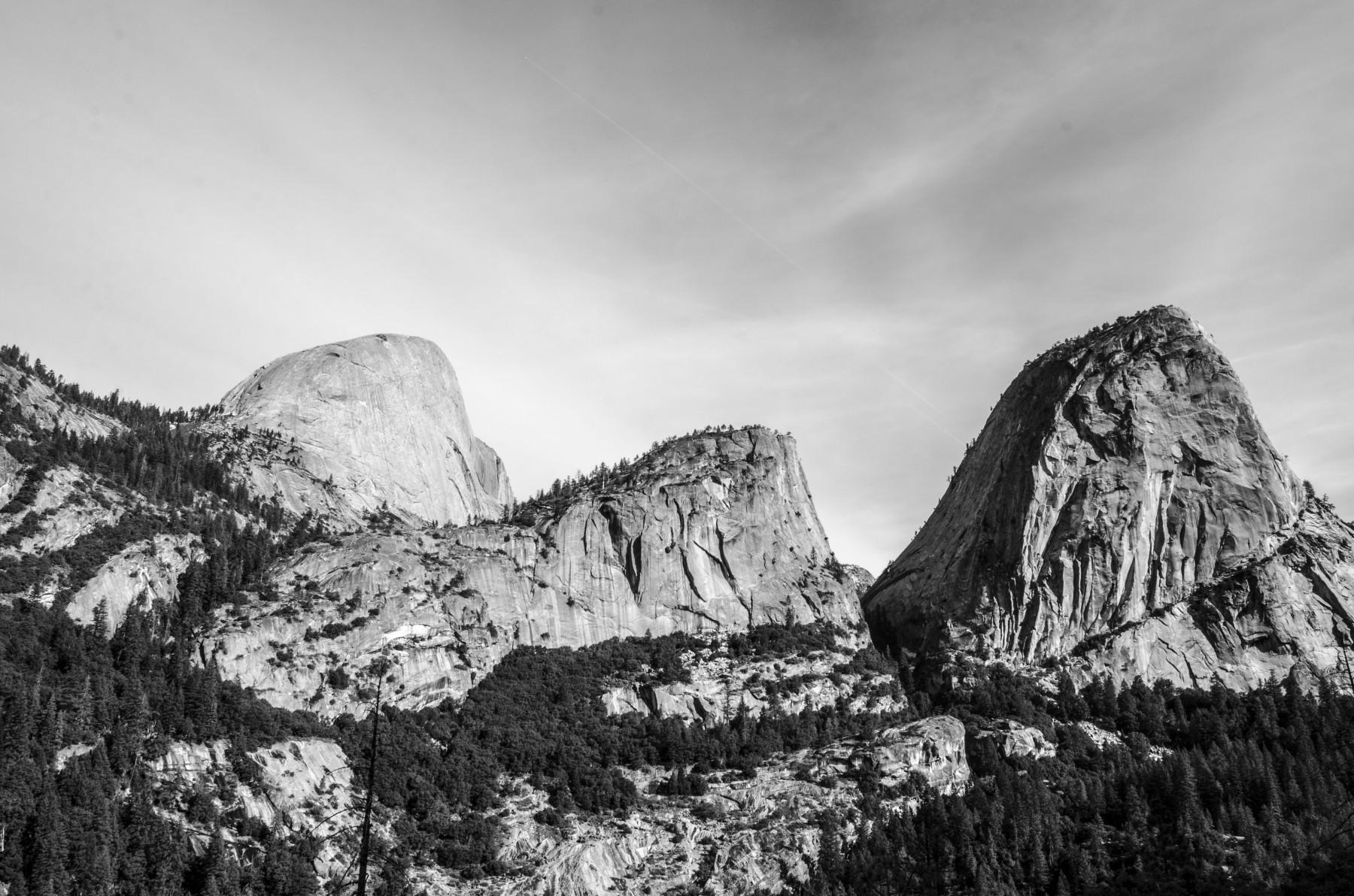 Mountain tops, Yosemite