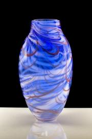 Glass vase by Renovat Moody
