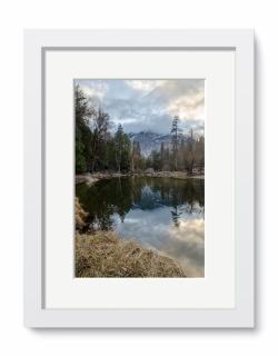 Mirror Lake , Yosemite National Park , California.